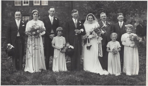 Mum Dad - edith brough wedding