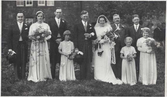 Mum Dad - edith brough wedding