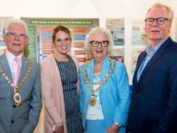Mayor of Nantwich opens Nantwich Museum 'River Weaver' exhibition