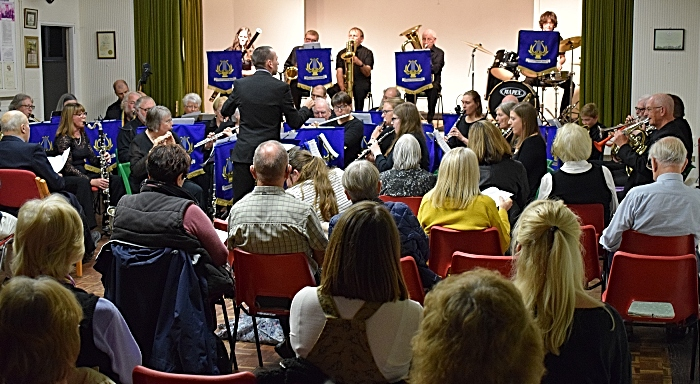 Musical Director Adam Shilton conducts Crewe Concert Band (1) (1)