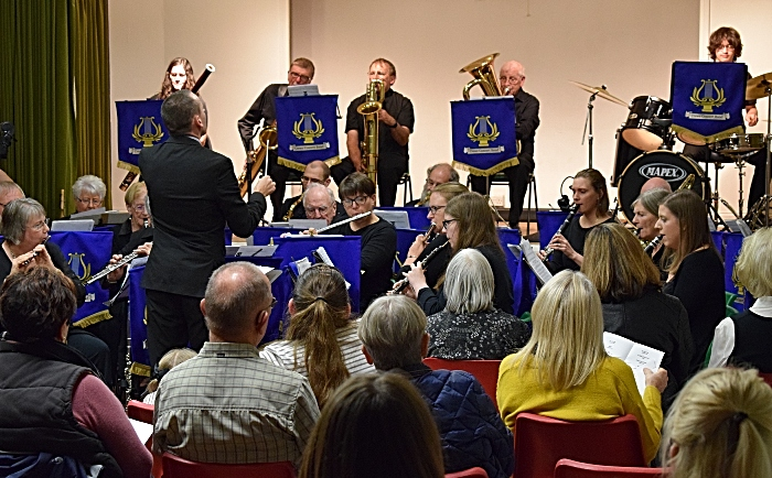 Musical Director Adam Shilton conducts Crewe Concert Band (2) (1)