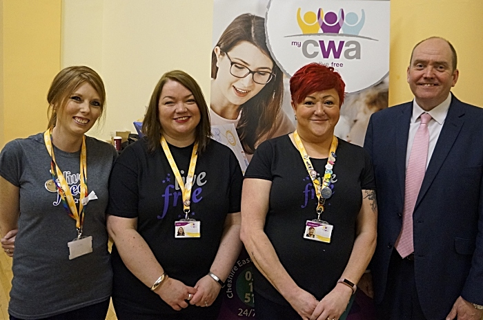 My CWA Launch - domestic abuse service CEC