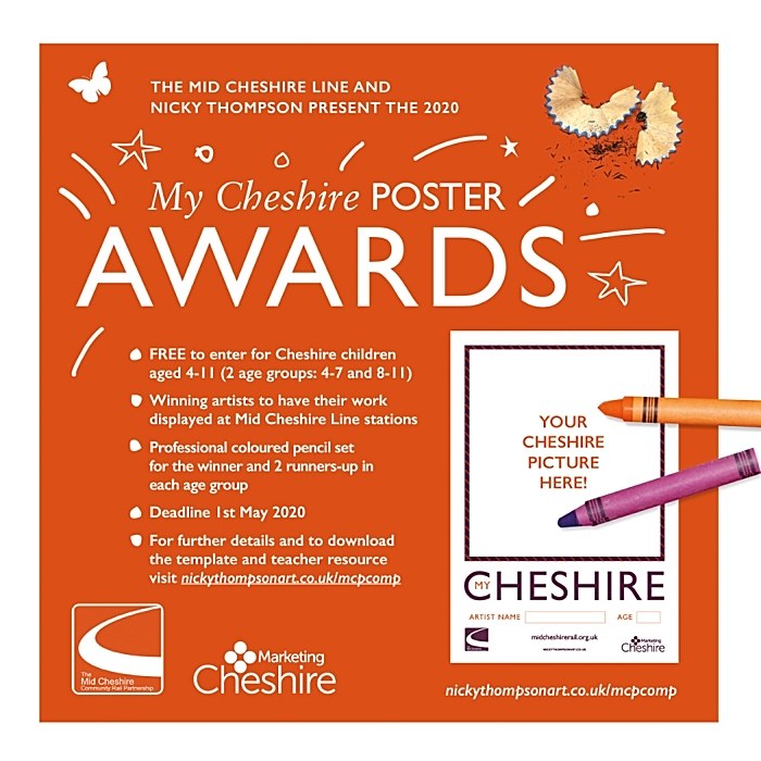 My Cheshire Poster Awards - The Competition - Art
