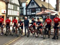 Nantwich Cycling Group riders head to London in aid of Foodbank
