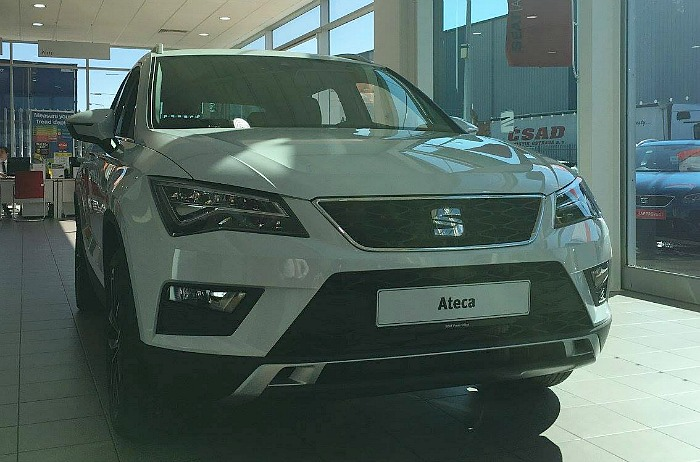 launch of new SEAT Ateca by Swansway Garages