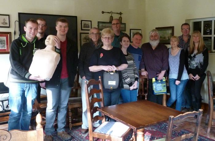 NWAS run defibrillator training