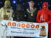 Movie heroes in Nantwich to promote town's NANOCON event