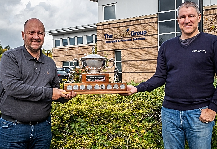 Nantwich CC cup win sponsors county group