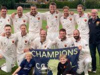 Nantwich CC secure Cheshire County Premier League title