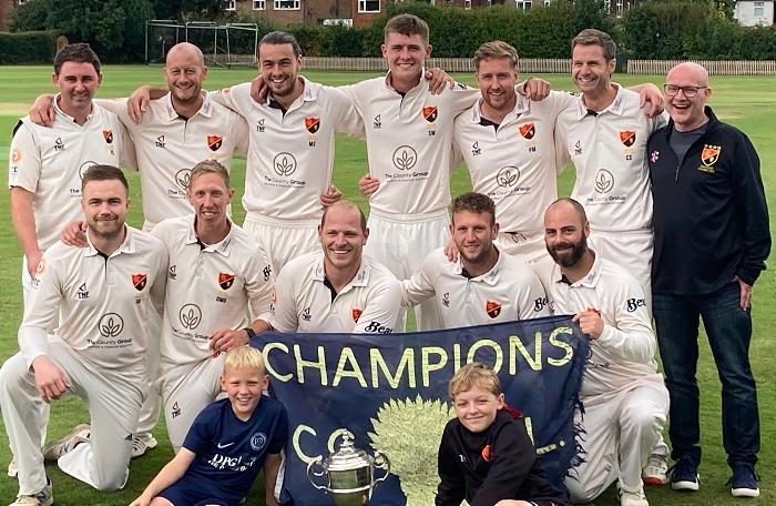 Nantwich CC win 5th title in 12 years - pic by Graham Pearson