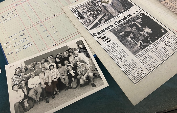Nantwich Camera Club - 40th anniversary memorabilia at Photographic Exhibition 2021 in Nantwich Museum (1)