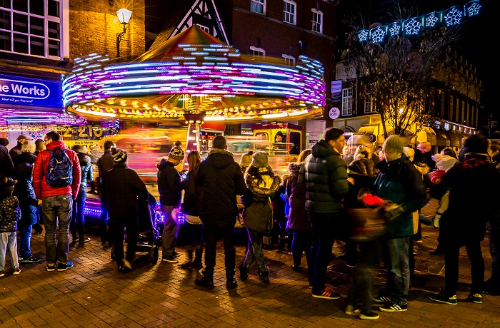 Nantwich Christmas Lights 2015, pic by Nantwich Events Photography