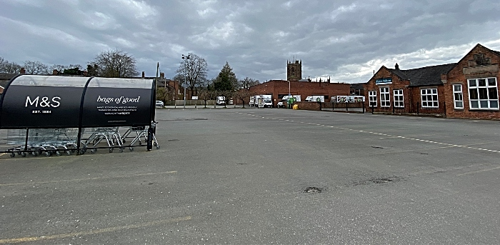 parking - Nantwich - Civic Hall car park - Sat 28-3-2020 afternoon (1)