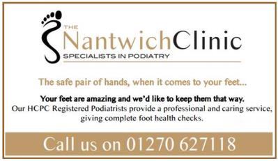 Nantwich Clinic 250x125 draft advert