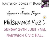 Nantwich Concert Band team up with Soprano Jessica Thayer