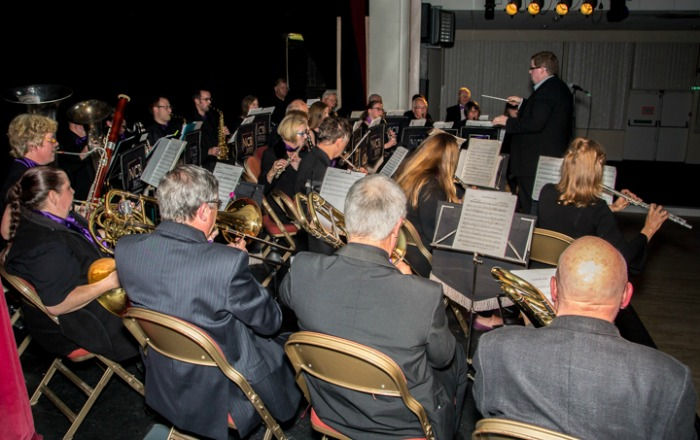 Nantwich Concert Band perform at Civic Hall (pic by PDPhotography)