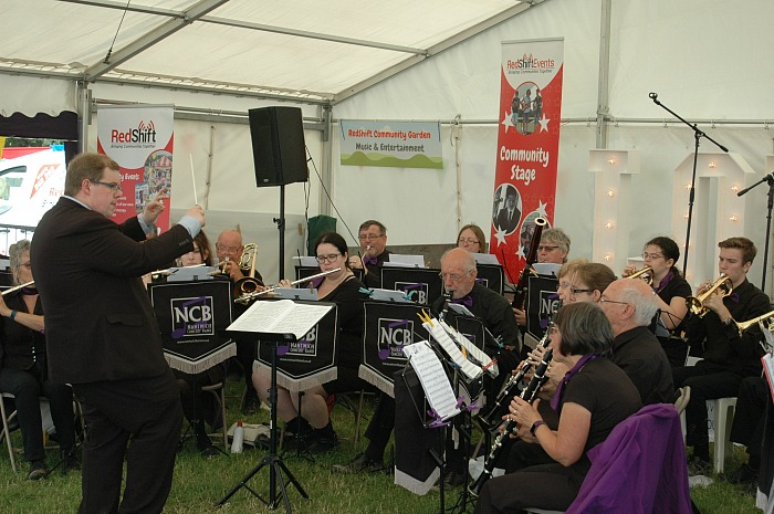 Nantwich Concert Band perform at the RedShift Events Community Stage
