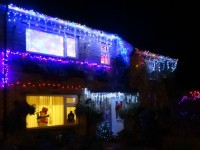 Nantwich householders go Christmas crackers with lights