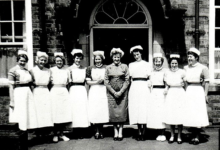 Welsh Row - Nantwich Cottage hospital staff 1950-71