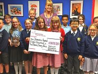 Nantwich schools raise more than £800 for hospital dementia appeal