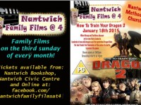 Nantwich Family Films @ 4 returns this weekend