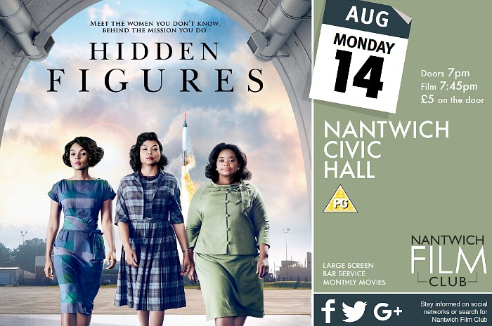 Nantwich Film Club - Hidden Figures