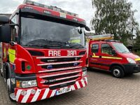 Crews tackle kitchen fire at Nantwich house