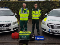 Nantwich Ambulance First Responders shortlisted for Community Hero awards
