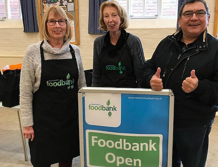Nantwich Food Bank presentation