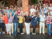 64 volunteers trained ahead of Nantwich Food Festival