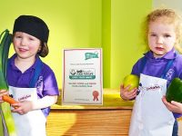 Nantwich Elmscot Day Nursery gains Food for Life Award