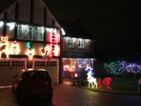 Crewe and Nantwich homeowners light up for Christmas!