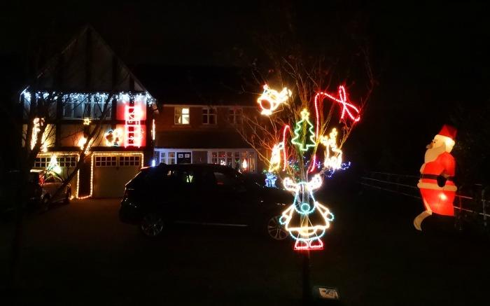 Nantwich - Hawksey Drive - lights