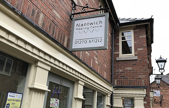 Nantwich Hearing Centre exterior