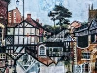 Nantwich Museum displays gift painting from US artist