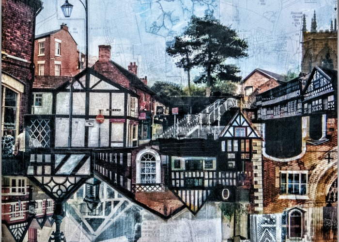 US artist - Nantwich - (I Flew The Nest) by Jon Measures . Photograph Paul Topham