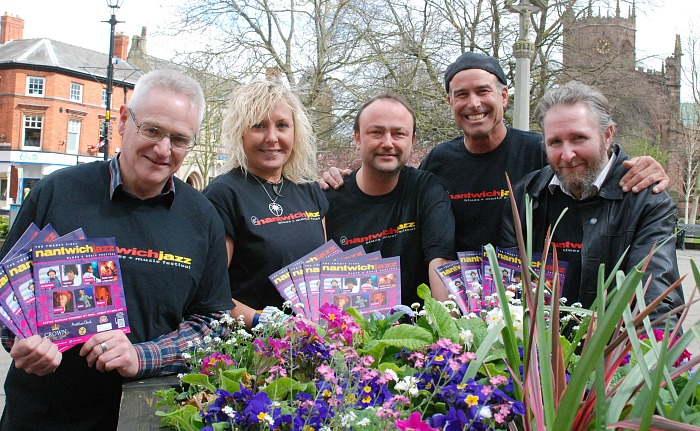 tickets sell fast - Nantwich Jazz Festival t-shirts