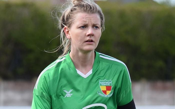 Claire Rathbone - Nantwich Ladies FC - promotion