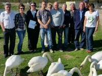 Nantwich Lake Wildlife Conservation group launch hailed a success