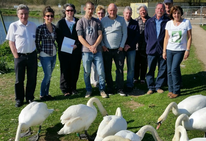 Nantwich Lake conservation group launch