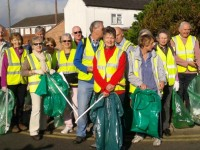 Police Commissioner John Dwyer praises Nantwich Litter Group