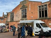 Nantwich Market open as town falls quiet in face of COVID-19