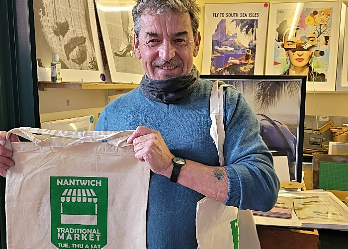 Nantwich Market reusable bags