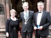 Mayor enjoys St Mary's Church summer serenade concert