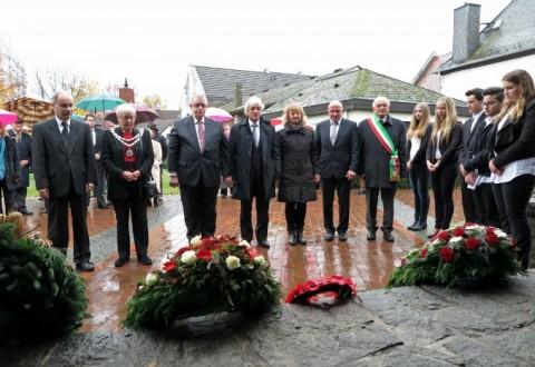 Nantwich Mayor visits Raunheim to commemorate World War One