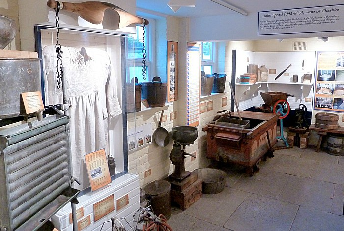 Nantwich Museum cheese room