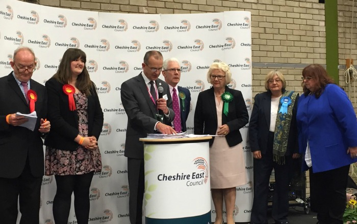 Nantwich North and West, Cheshire East borough election