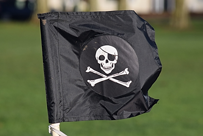 Nantwich Pirates corner flag