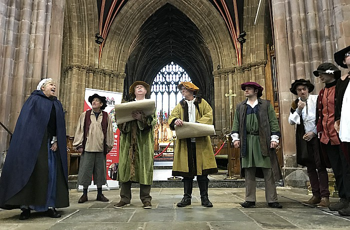 Nantwich Players Theatre perform in St Marys Church Nantwich