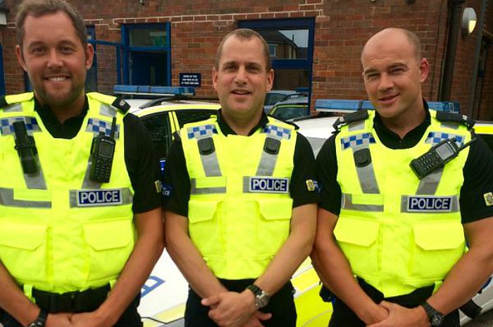crime fighters - Nantwich Police officers on the new beat team